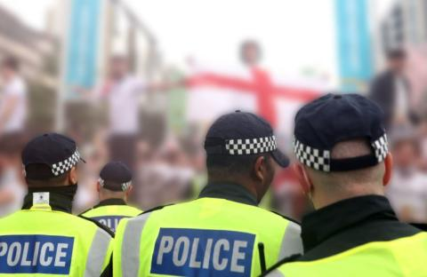 Images released by officers investigating Euro 2020 final disorder