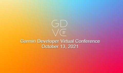 Garmins virtuelle Entwicklerkonferenz findet am 13. Oktober statt
