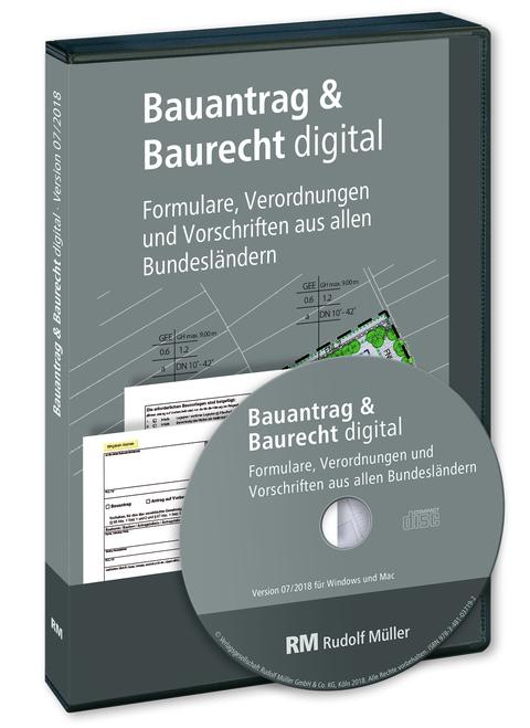 Bauantrag & Baurecht digital (3D/tif)