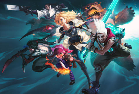 ​Telia og spillkjempen Riot Games lanserer ny nordisk serie for League of Legends