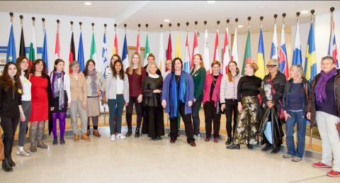 Nytt feministiskt nätverk i Europa / New Feminist Network in Europe