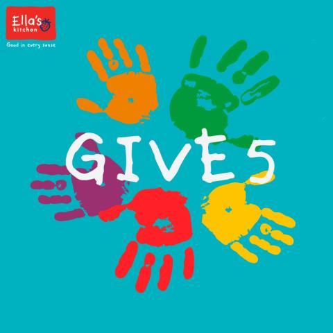 Ellas Kitchen Give 5