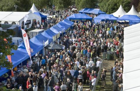 Matfesten i Skellefteå satsar på folkfest och branschutveckling