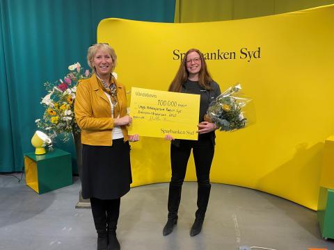 Henrietta Hansson vd Sparbanken Syd, Sofie Orlov, Unga aktiesparare Malmö
