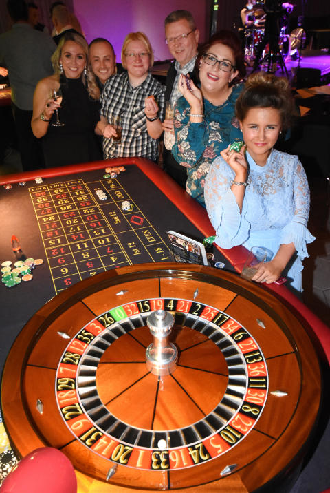 Casino games were among the entertainment provided at the Team GNE Awards 2017