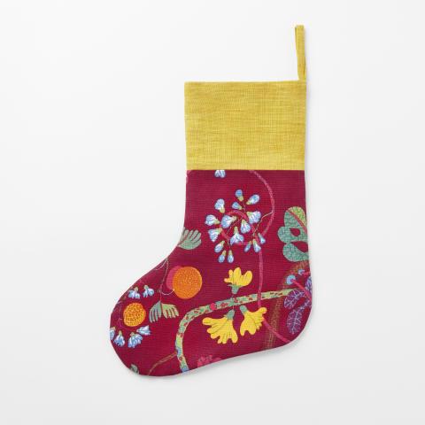 Svenskt_Tenn_Christmas_Stocking_Baranquilla_Red
