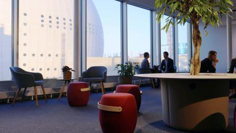 Ebab inviger nytt huvudkontor i Söderstaden