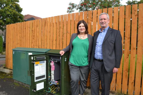 Glasgow City Council leader welcomes Openreach ultrafast broadband rollout