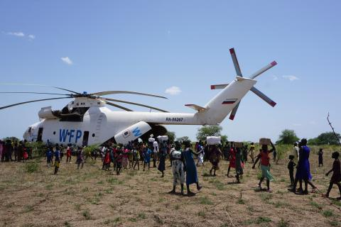UNICEF relief for South Sudan