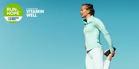 Run of Hope tillsammans med Vitamin Well samlade in rekordbelopp i kampen mot barncancer