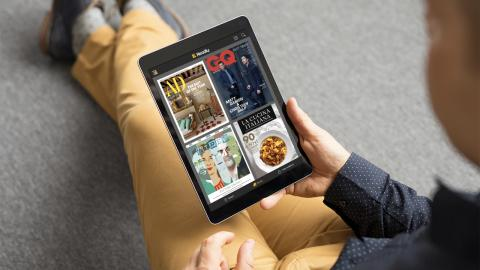Readly_all you can read magazines_tablet