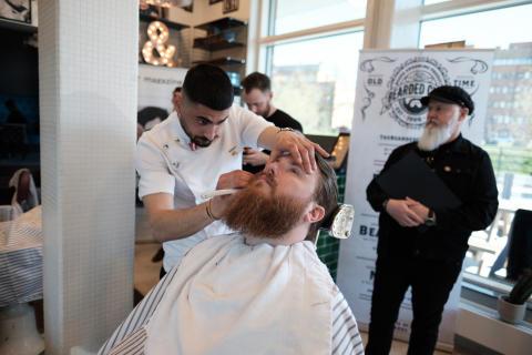 Han är Södra Sveriges bästa barberare!