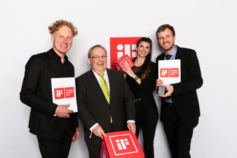 Invisible product - but obvious joy: BPW rewarded with iF Design Award 2019
