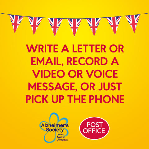 Post Office and Alzheimer's Society launch new Reminisce Remotely campaign ahead of VE Day