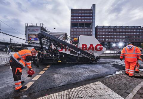 STRABAG AG realisiert nahe der Unternehmenszentrale in Deutz das erste ClAir® Asphalt-Projekt in Köln