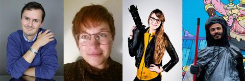 Region Blekinges kulturstipendier för 2017: Fyra stipendiater delar på 60 000 kronor