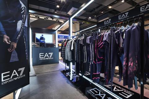 SportScheck präsentiert Emporio Armani EA7 Pop up Store