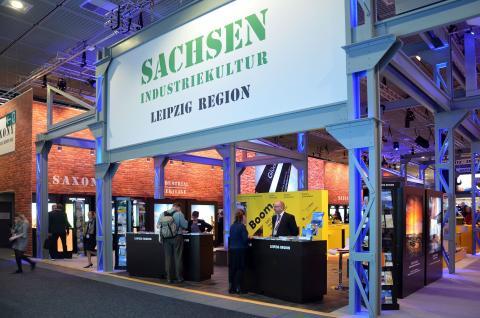 Sachsen Stand auf der ITB 2019
