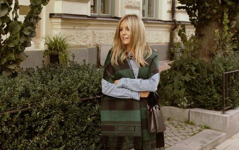 Journalisten Sofi Fahrman till ELLE