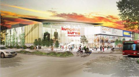 Samråd för omlokaliseringen av IKEA Kungens Kurva