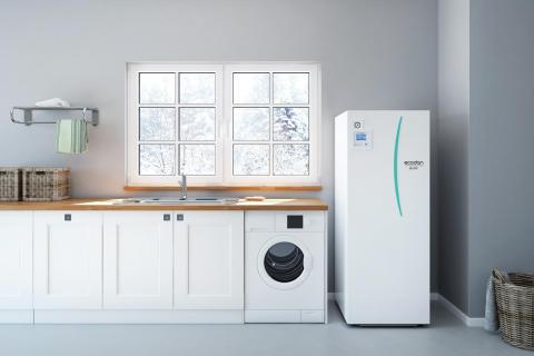 Ecodan - Vinter - tvättstuga