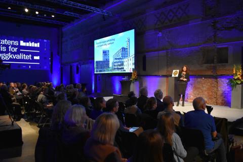 Katharina Th. Bramslev på Byggkvalitetsdagen 2019