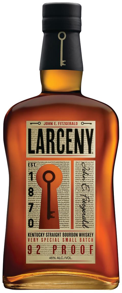 Larceny Kentucky Straight Bourbon Straight On