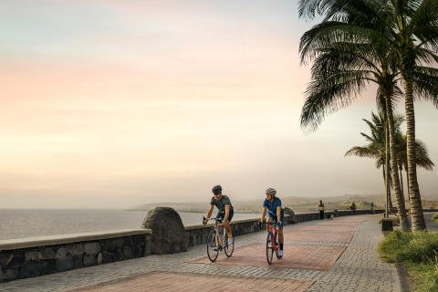 Cykling langs kysten