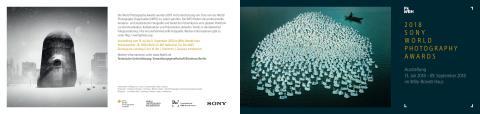 Einladung Sony World Photography Awards Ausstellung 2018 Berlin