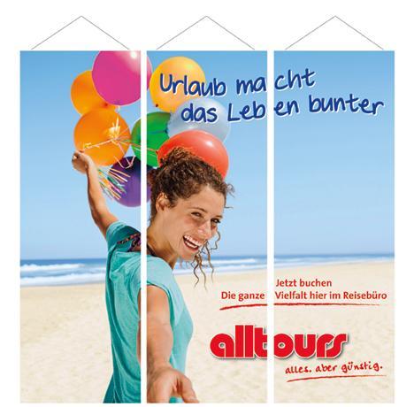 alltours unterstützt Reisebüros mit Marketing-Aktionen in der Krise - Mit neuen Dekorationen und Sommerkatalogen die Kunden zum Reisen anregen