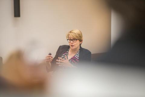 University Chancellor addresses public services management conference