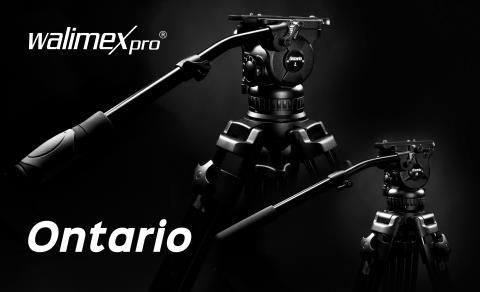 walimex pro Ontario – die neuen Videostative für Profis