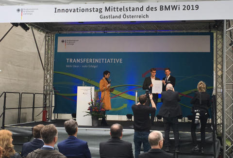 VisiConsult received innovation award for XRHRobotStar