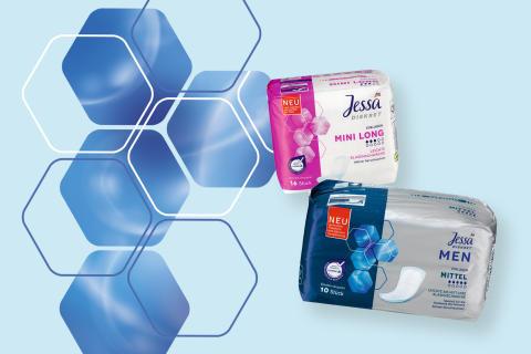 Sicherer Schutz mit der dm-Marke Jessa Diskret