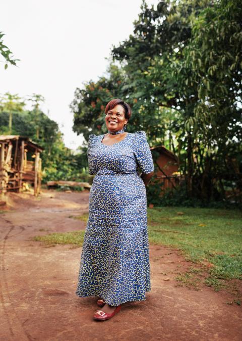 Wayout Water Mrs Lydia Jjemba Secretary of Namayumba Epicenter - null