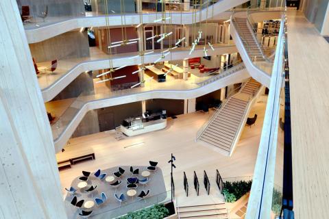 Compass Group skal levere FM-tjenester til Sparebank 1 SR-Banks nye hovedkontor Finansparken