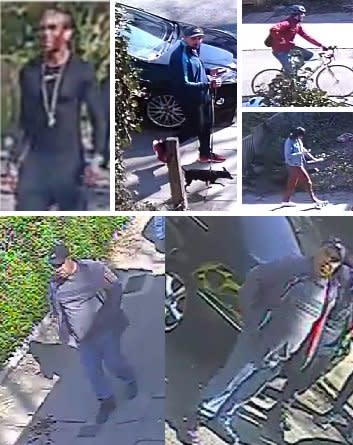 Murder detectives issue CCTV images of potential witnesses