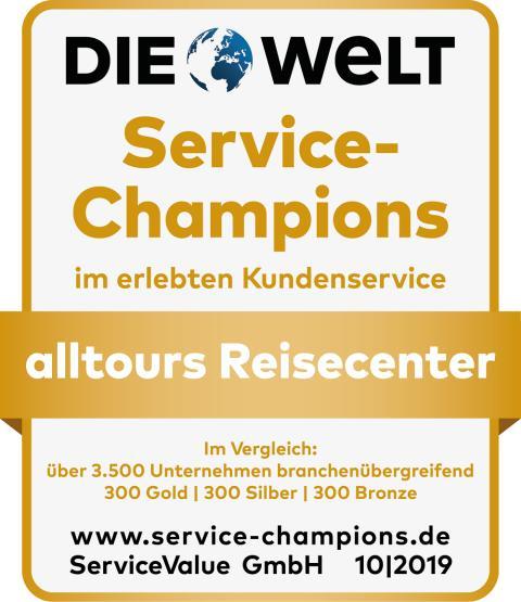 Siegel_SC_2019_alltours Reisecenter