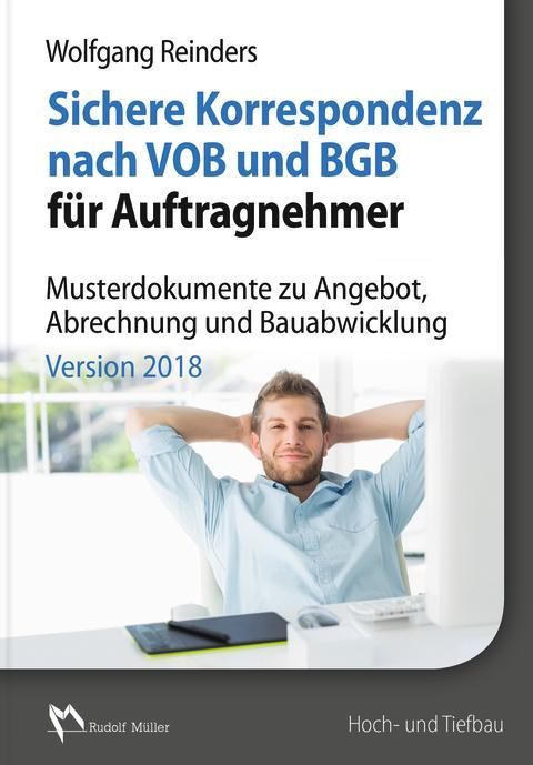 Sichere Korrespondenz nach VOB und BGB für Auftragnehmer, Version 2018 (2D/tif)