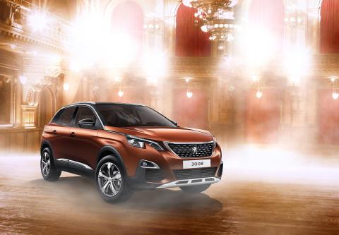 Peugeot stolt sponsor av Let's dance