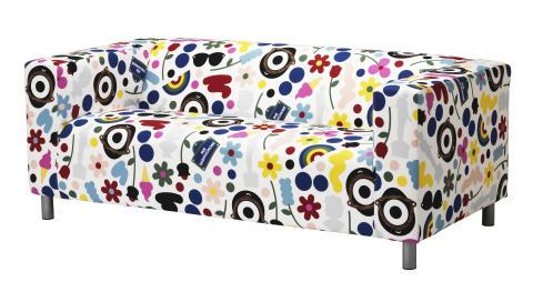 KLIPPAN 2-pers. sofa 1.599.-, KLIPPAN betræk til 2-pers. sofa 500.-