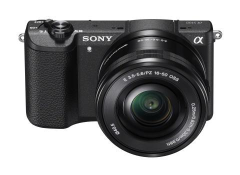 Verdens mindste kamera med udskiftelige objektiver, super hurtigt autofokus og billeder i prof-kvalitet