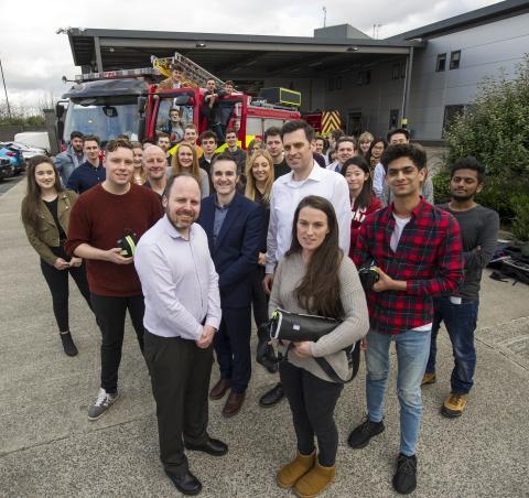 Northumbria Draeger fire service design project 2