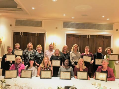 Fred. Olsen celebrates the first graduates from its new Women's Leadership Network course