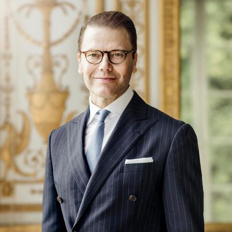 H.K.H. Prins Daniel inledningstalar vid öppnandet av konferensen och mötesplatsen Träffpunkt Idrott 17 mars 2020