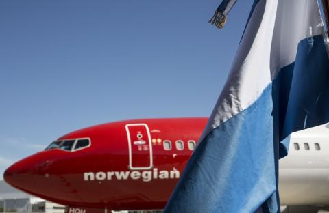 Norwegian inaugura hoy vuelos diarios desde Aeroparque a Bariloche