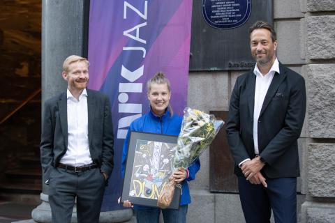 Usbl Jazztalent-pris tildelt trommeslager Veslemøy Narvesen