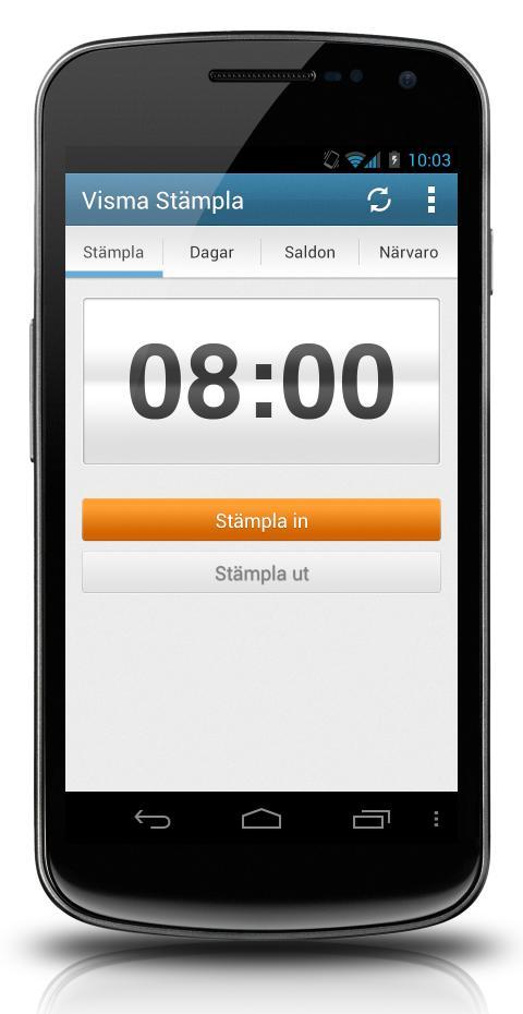 Full koll på arbetstiden direkt i mobilen