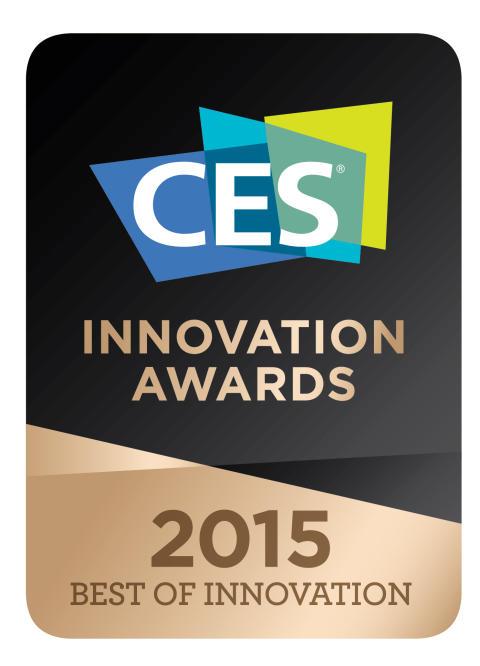 A Sony foi galardoada com o prémio Best Innovation Award CES 2015 na categoria de Imagem Digital com a câmara A7S