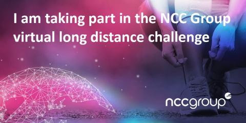 Colleagues take on the virtual long distance challenge for charity